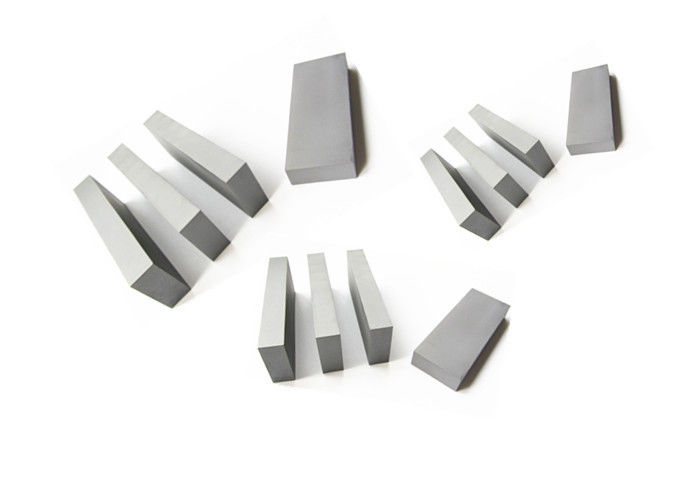 Durable Hardmetal Carbide Wear Strips , 5mm Thickness Carbide Square Bar