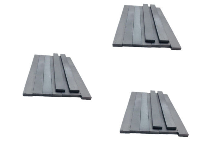 Blank Cemented Tungsten Carbide Strips Size Various With Good Resistance